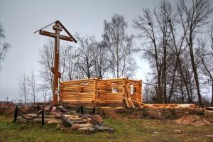 Погост Лука. Церковь Николая Чудотворца